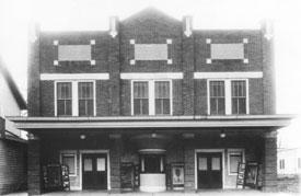 The Gibson Theatre Battesville IN 1921