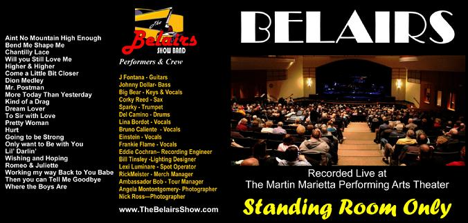 Belairs CD Standing Room Only